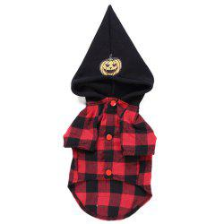 Creative and Plaid Design Pet Clothes -