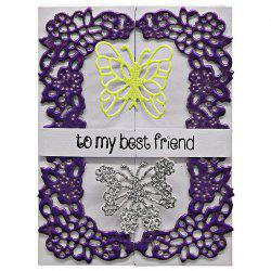 DIY Butterfly Lace Pattern Carbon Steel Cutting Die -