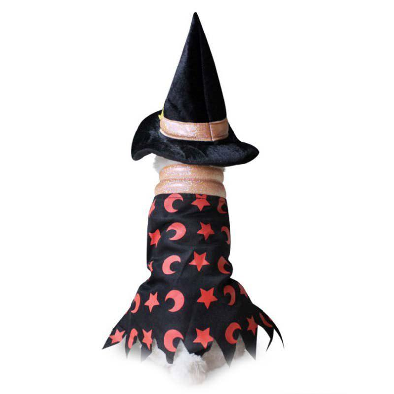 New Halloween Wizard Cloak Clothing for Pet