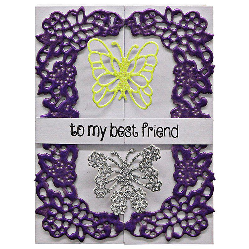 Outfit DIY Butterfly Lace Pattern Carbon Steel Cutting Die