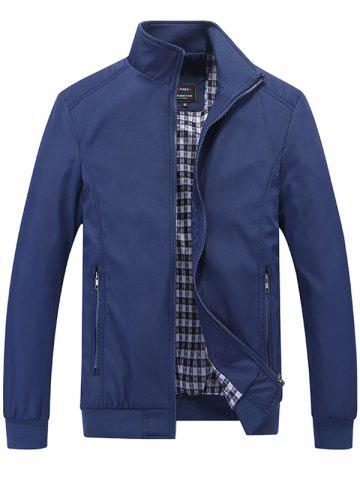 Trendy Stand Collar Casual Jacket