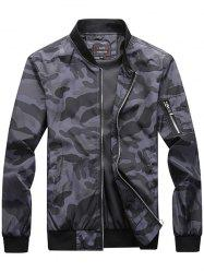 Trendy Camouflage Casual Jacket -