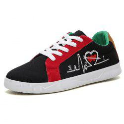 Spring Autumn Breathable Suede Casual Sneakers -