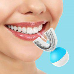 Automatic U-shape Rechargeable Electric Toothbrush 360-degree Sonic Tooth Cleaner -