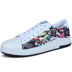 Leather Lace Up Casual Shoes for Men -