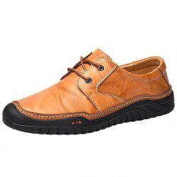 Impact and Skid Resistance Leather Casual Shoes -