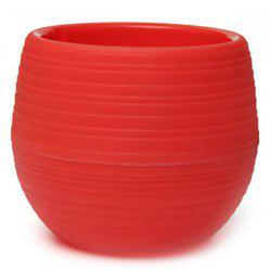 Creative Round Shaped ABS Flower Pot -