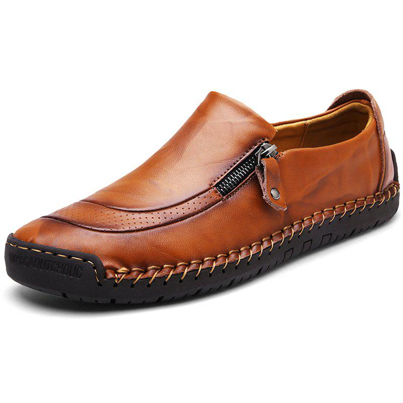 Affordable Men's Plus Size Casual Leather Shoes