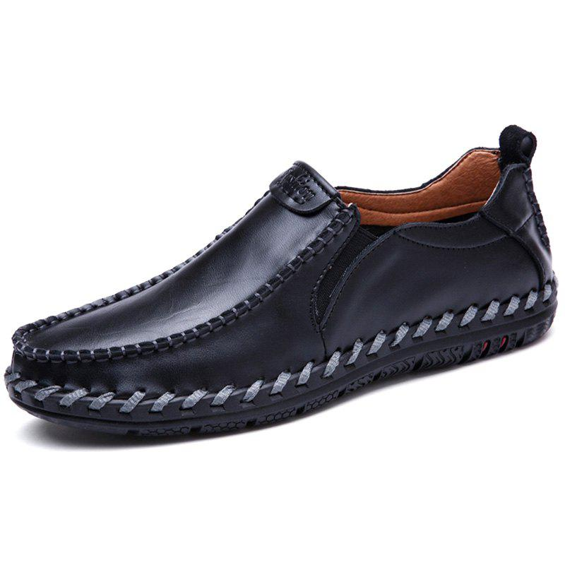 Chic Breathable and Leisure Leather Casual Shoes