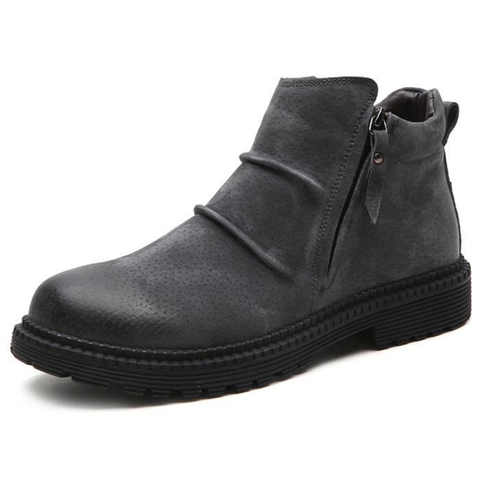 Trendy Vintage Fashionable High Top Boots