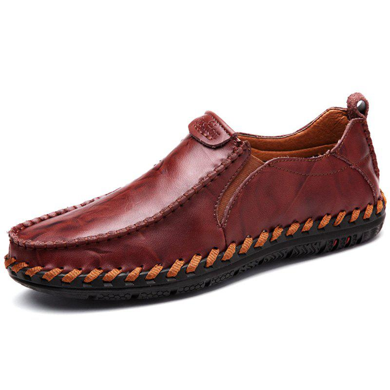 Fancy Breathable and Leisure Leather Casual Shoes