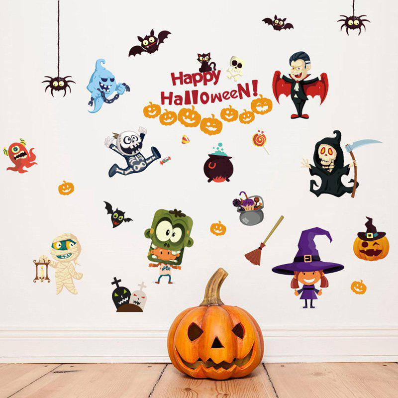 Discount Halloween Style Wall Sticker