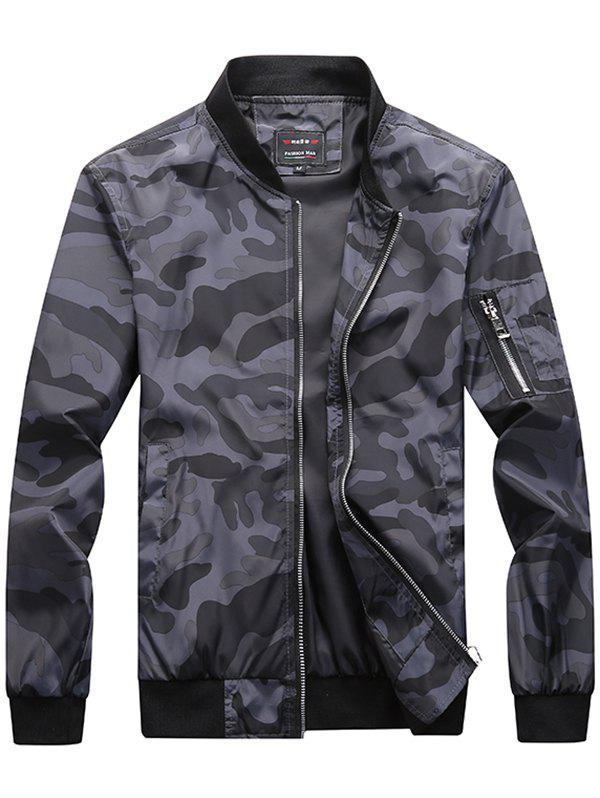 Cheap Trendy Camouflage Casual Jacket