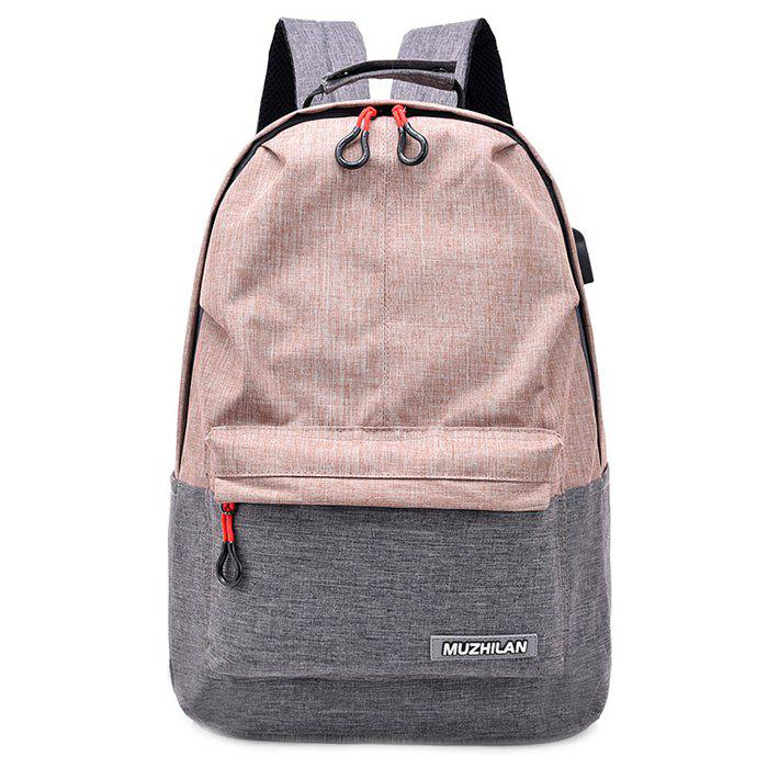 Buy Waterproof External USB Port Design Backpack