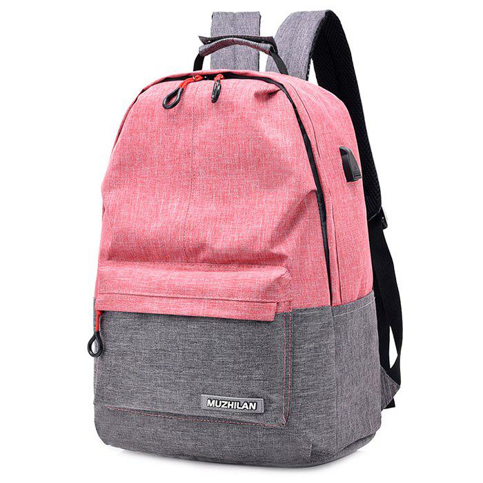 Store Waterproof External USB Port Design Backpack