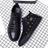 Heat Absorption and Sweating  Leather Casual Shoes -