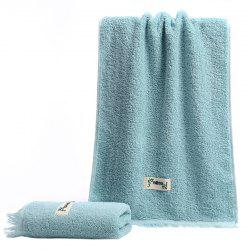 Facial Towel for Bathroom Dormitory Travel with Tassels 1pc -