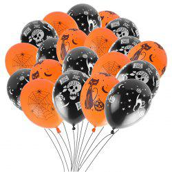 12 inch Thick Latex Balloons Halloween Decoration Prop 100pcs -