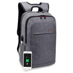 Tigernu Trendy Leisure Backpack with USB Port -
