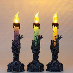 Halloween Scenery Decoration Ornament Candle Lamp for Bar KTV Mall 1pc -