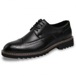Leisure Lace-up Casual Leather Shoes for Men -