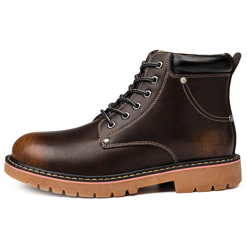 Hot High Work Shoes Martin Boots for Men