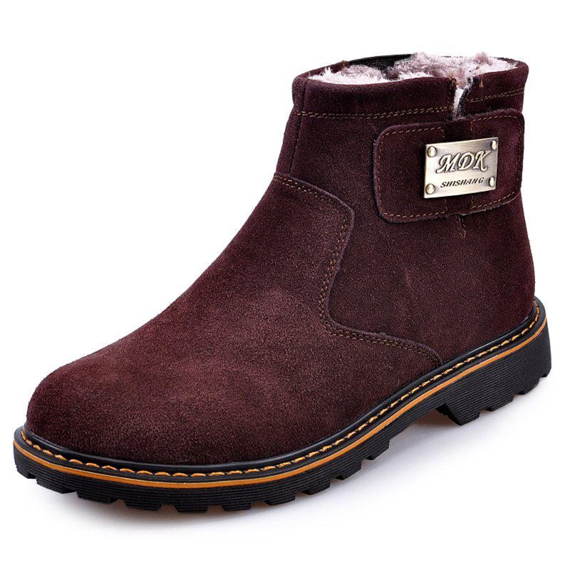 Online Suede Warm Wearable Boots for Men