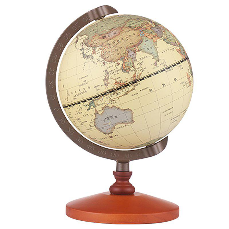 Best Antique Globe Office Solid Wood Table Decoration