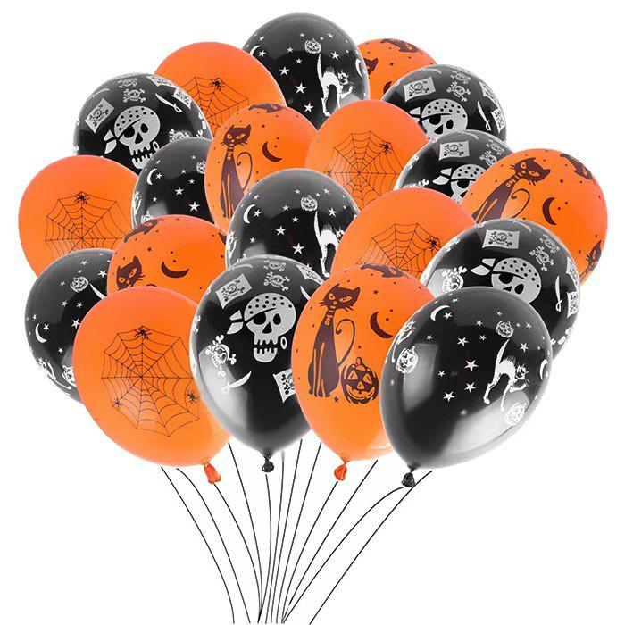 Outfits 12 inch Thick Latex Balloons Halloween Decoration Prop 100pcs
