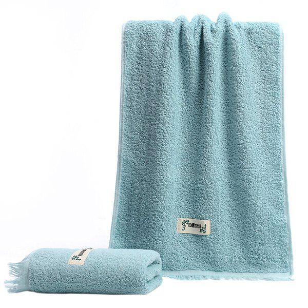 New Facial Towel for Bathroom Dormitory Travel with Tassels 1pc