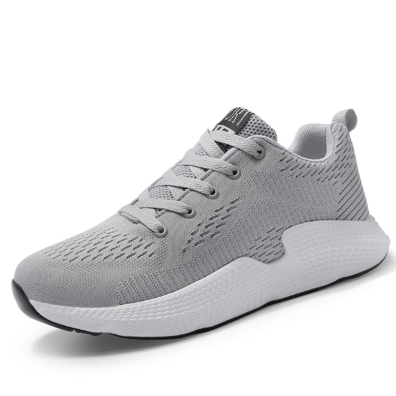 Outfit Mesh Cloth Solid Color Breathable Sneakers