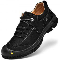 Male Outdoor Wearable Lace Up Hiking Shoes -