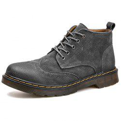 Fashion Winter Leather Martin Boots for Man -