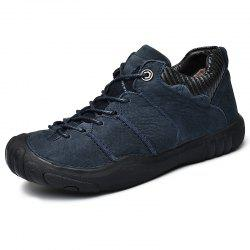 Outdoor Stylish Plush Lace-up Men Casual Shoes -
