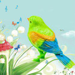 Funny Electronic Voice Control Music Bird Toy Sing Song Doll -