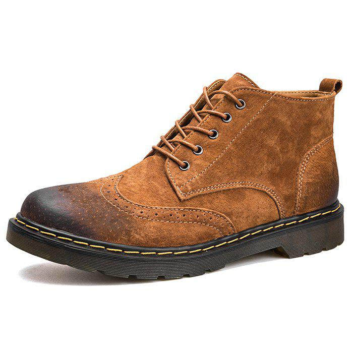 Fancy Fashion Winter Leather Martin Boots for Man