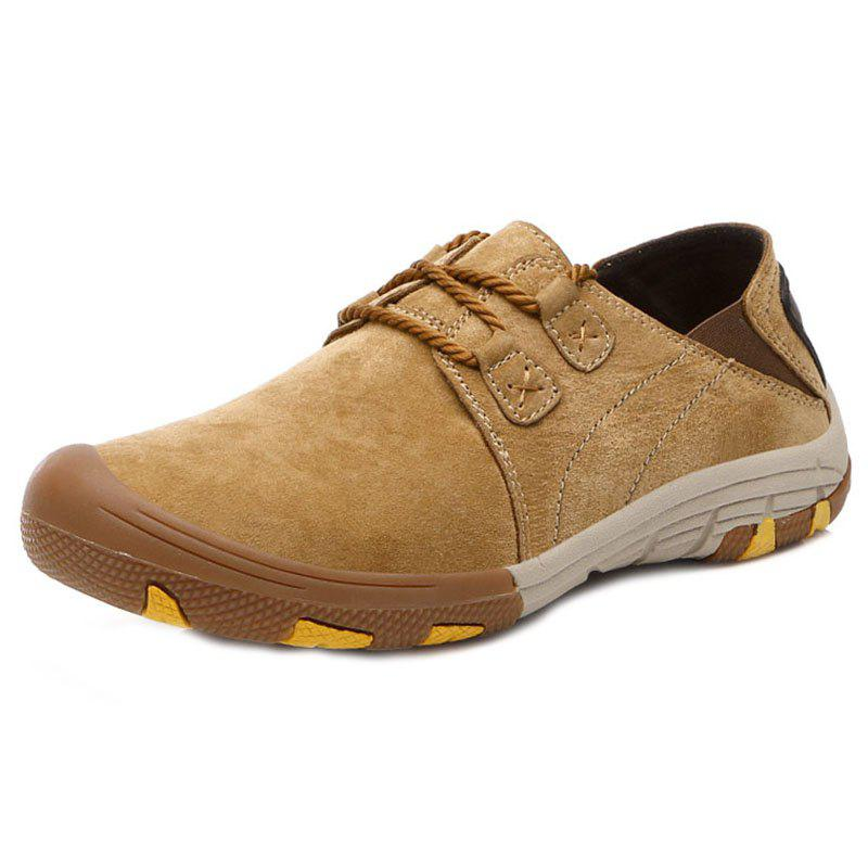 Chic Outdoor PU Casual Flat Shoes for Men