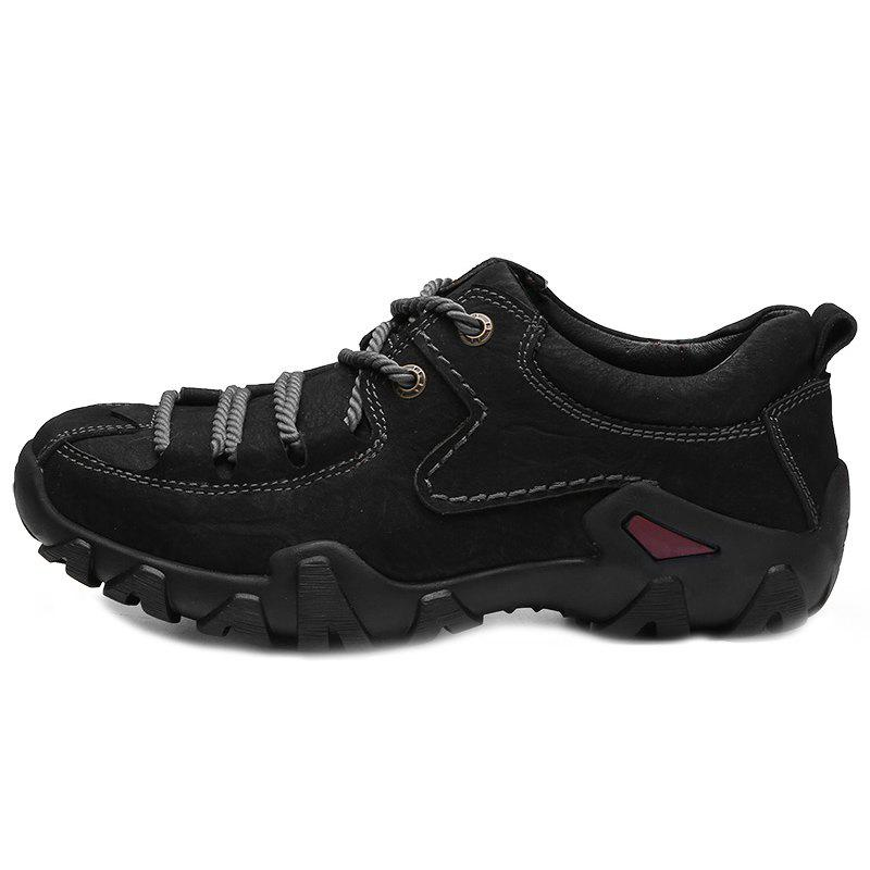 Online Genuine Leather Casual Wearable Hiking Shoes for Men