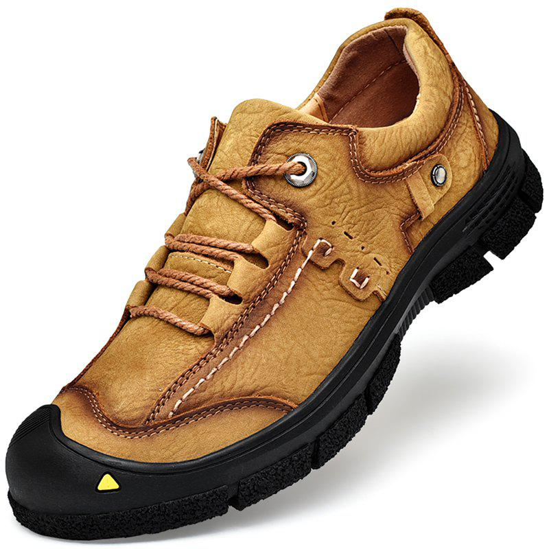 Unique Male Outdoor Wearable Lace Up Hiking Shoes