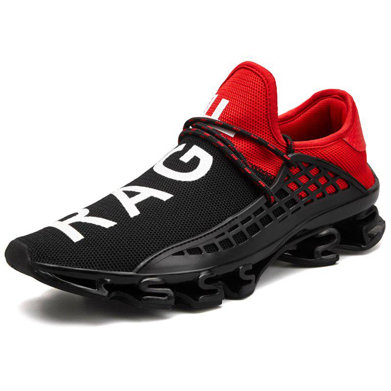 Trendy Male Fashion Mesh Wearable Casual Sports Shoes Sneakers