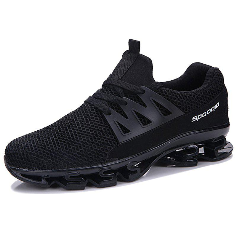 Unique Male Fashion Mesh Fabric Wearable Casual Sports Shoes Sneakers