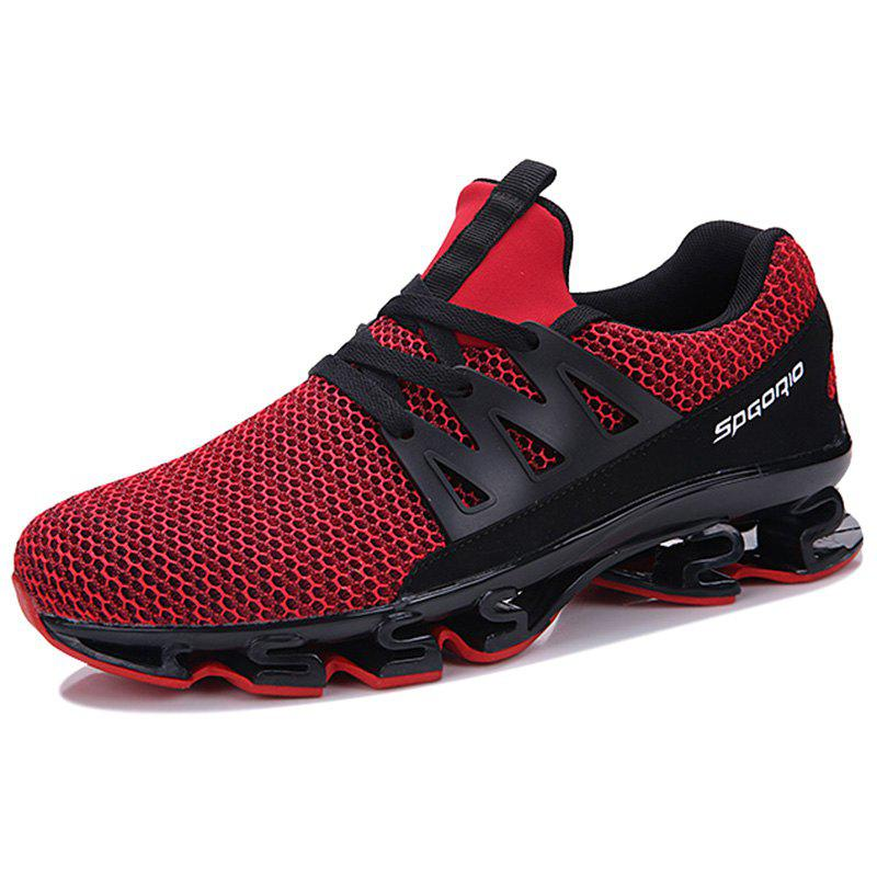 Trendy Male Fashion Mesh Fabric Wearable Casual Sports Shoes Sneakers