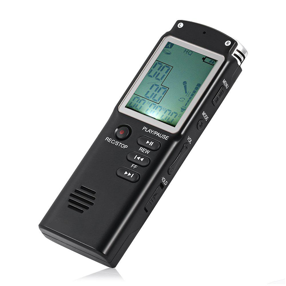 New T60 Professional Mini Digital Voice Recorder with Large Screen