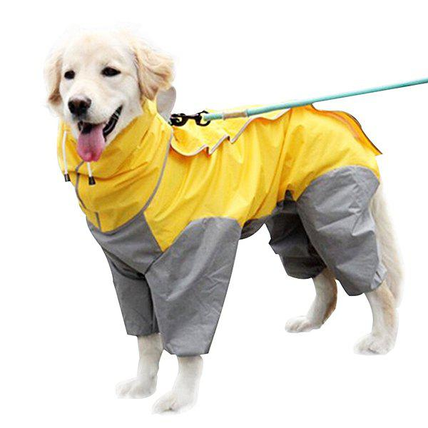 Hot Waterproof Dog Raincoat / Bodysuit Clothes for Pet
