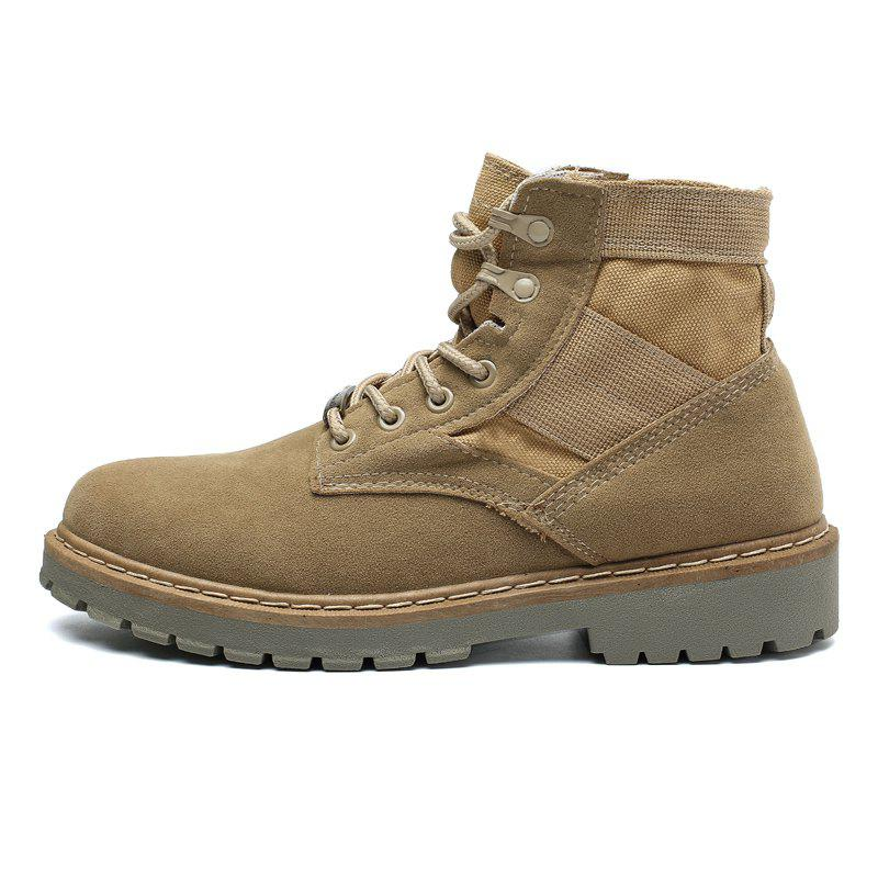 Outfits Fashion Comfortable Suede Durable High-top Classic Boots for Men