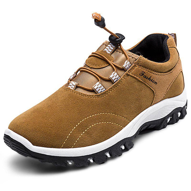 Chic Leisure All-match Drawstring Casual Men Shoes