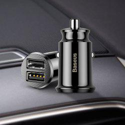 BASEUS Creative Multifunctional 2 USB Interface Car Charger 1pc -