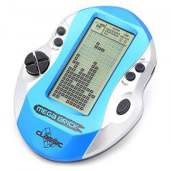 Tetris Game Console Big Screen Electronic Handheld Built-in A-Z 26 Classic Nostalgic Games -