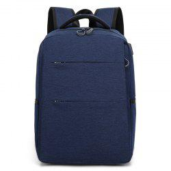 Casual Smart USB Recharge Business Backpack -