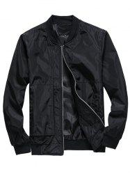 Leisure Stylish Solid Color Jacket -